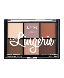 """<a href=""""/brand/nyx/""""><strong>NYX PROFESSIONAL MAKEUP</strong> </a><br /> Lid Lingerie Shadow Palette Image"""