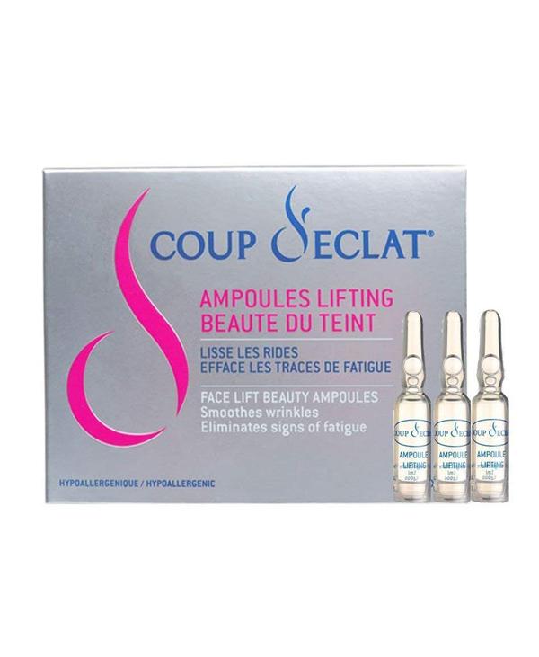 """<a href=""""/brand/coupdeclat/""""><strong>COUP D'ÉCLAT</strong> </a><br />  Ampoules Lifting Beauté Du Teint Image"""