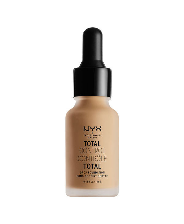 "<a href=""/brand/nyx/""><strong> NYX PROFESSIONAL MAKEUP</strong> </a><br /> Total Control Drop Foundation Image"