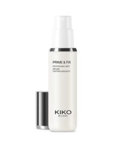 "<a href=""/brand/kiko-milano/""><strong>KIKO MILANO</strong> </a><br />  Prime & Fix Refreshing Mist Image"