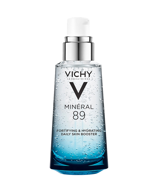 """<a href=""""/brand/vichy/""""><strong> VICHY</strong> </a><br /> Mineral 89 Fortifying and plumping daily booster Image"""