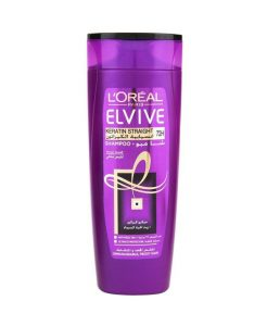 "<a href=""/brand/lorealparis/""><strong>L'ORÉAL PARIS</strong> </a><br />  Elvive Keratin Straight Shampoo Image"