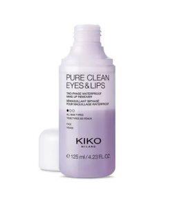"<a href=""/brand/kiko-milano/""><strong>KIKO MILANO</strong> </a><br />Pure Clean Eyes & Lips Image"