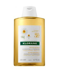 """<a href=""""/brand/klorane/""""><strong>KLORANE</strong> </a><br />Blond Highlights Shampoo with Chamomile Image"""